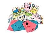 Toga KTZ07 Princesse Kit de carterie Papier Multicolore 23,5 x 16 x 4,5 cm
