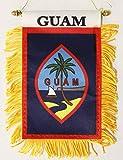 Guam - Window Hanging Flag