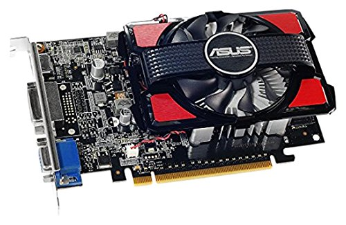 Asus VGA GT740-2GD3 NVIDIA Grafikkarte (PCI-e, 2GB, GDDR3 Speicher, VGA 1, GPU)