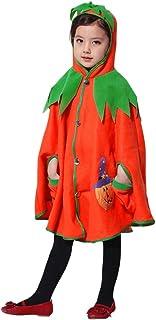 Bébé Fille Ensemble Bebe Garcon Automne et Hiver, Enfants Halloween Citrouille À Capuche Cosplay Cape Robe Garçons Filles ...