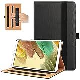 HoYiXi Funda para Samsung Galaxy Tab A7 Lite 8.7 Pulgada 2021 Tri-Fold Estuche de Tableta con función de Soporte Niño Funda Protectora para Samsung Galaxy Tab A7 Lite 2021 SM-T220/SM-T225 - Negro