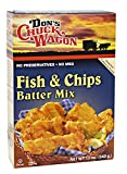 Don's Chuck Wagon Fish & Chips Mix, 12 Ounce (Pack of 6)