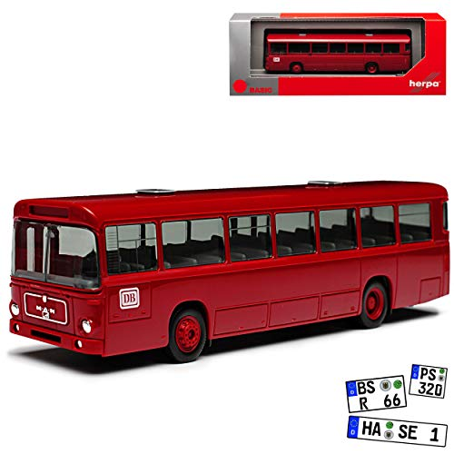 Herpa MAN Man SÜ 240 Bus DB Deutsche Bahn Bundesbahn Bus H0 1/87 Modell Auto