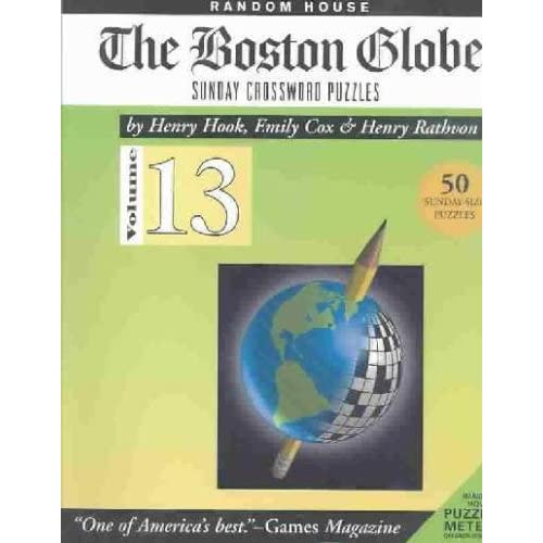 graphic relating to Boston Globe Crossword Printable named Boston Earth Crossword: