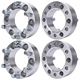 MAYASAF Wheel Spacers [2' THICK, 4 PACK 6 Lugs] for Toyota Tacoma/Tundra/4Runner/Sequoia, for Mazda Mitsubishi Isuzu Pickup, Chevy GMC Dodge for Honda Hyundai Plymouth Acura, 6X5.5/108mm Bore