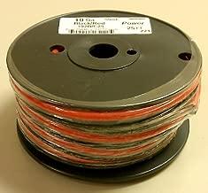 10AWG Red & Black Bonded Copper Speaker Wire 25' Roll