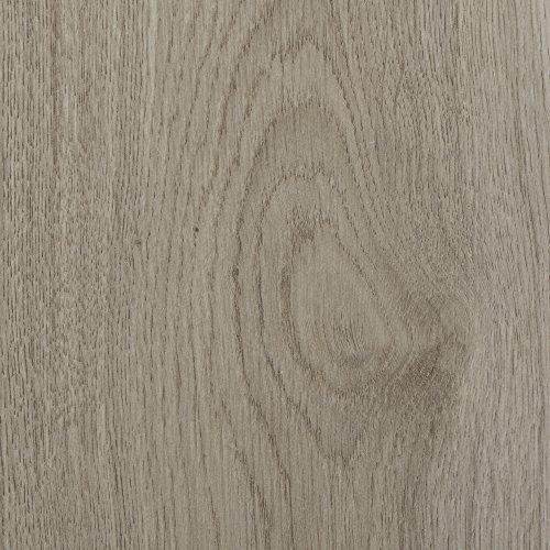 BODENMEISTER BM75002 Klick Laminat-Boden Holzoptik , Dielenoptik Eiche hell-beige , nicht gefast (ohne V-Fuge) , 1376 x 193 x 7 mm