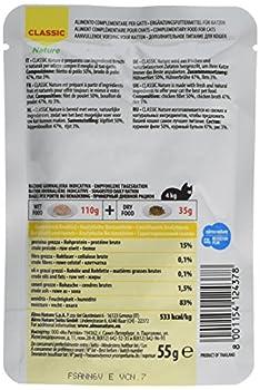 Almo Nature HFC Lot de 24 sachets de Nourriture Humide pour Chat Naturel Filet de Poulet 55 g