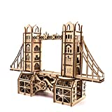 Batop 3D Puzzle Holzpuzzle, 371Pcs London Tower Bridge Lasergeschnittenes Hölzerne Puzzle Kit -...