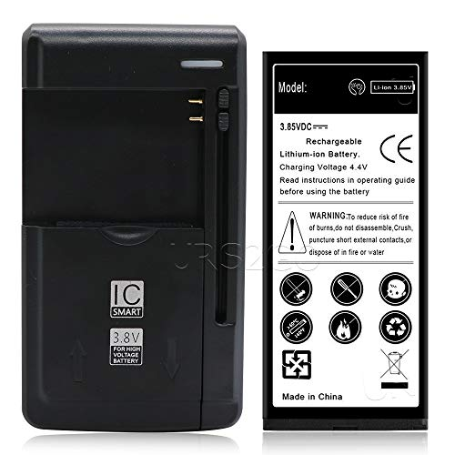 Lumia 735 Battery kit [1Battery + 1Charger] 2300mAh Spare Extended Slim Li-ion Battery Portable USB Charger for Nokia Lumia 735 Verizon/Sprint Phone