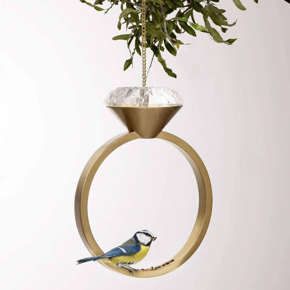 LXING Bird feeders for Outdoors Hanging Feeder, Max 66% Colorado Springs Mall OFF H Diamond