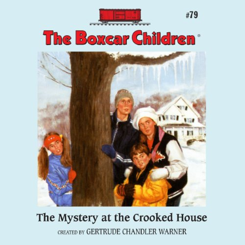 The Mystery at the Crooked House audiobook cover art