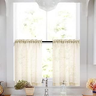 Best 24 inch kitchen curtain sets Reviews