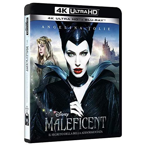 Maleficent 4K (2 Blu Ray)