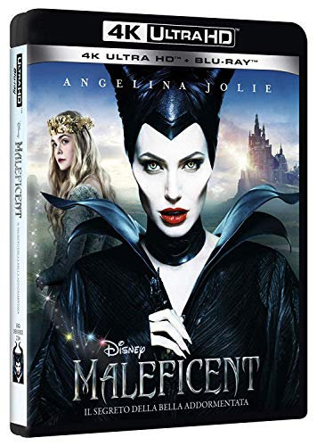 Locandina Maleficent 4K  (2 Blu Ray)
