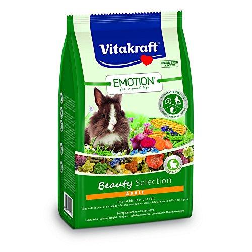 Vitakraft Beauty Adult Conigli Nani kg. 1,5 Alimenti per Roditori, Multicolore, Unica, 1500 unità