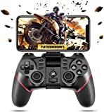 PTTPRY Wireless Bluetooth Android Game Controller Mobile Gaming Controller Gamepad Joystick Compatible for iOS/Android Phone/PC Windows/Smart TV/TV Box/ PS3(Does not Support iOS 13.4)