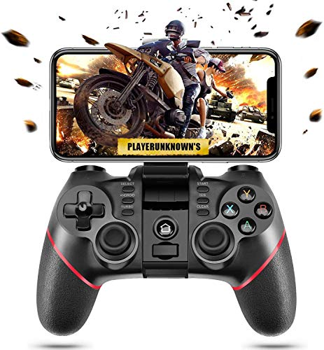 PTTPRY Wireless Bluetooth Android Game Controller Mobile Gaming Controller Gamepad Joystick...