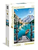 Clementoni- Braies Lake High Quality Collection Puzzle, 500 pezzi, 35039...