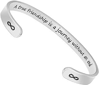 Inspirational Bracelets for Women Birthday Gifts Cuff...