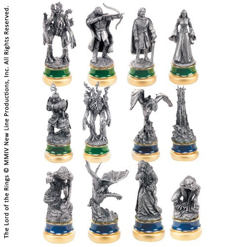The Noble Collection The Two Towers Paquete de 12 Personajes