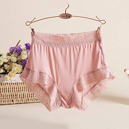 Beauties Hipster Boxers KnickersPure mulberry silk ladies breathable lace seamless panties-G_M