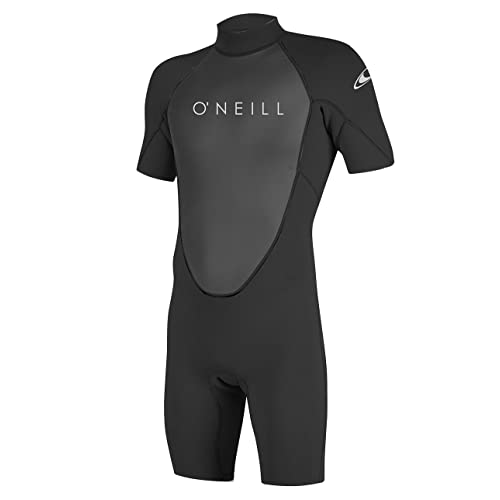 14272526e7 O Neill Men s Reactor-2 2mm Back Zip Short Sleeve Spring Wetsuit