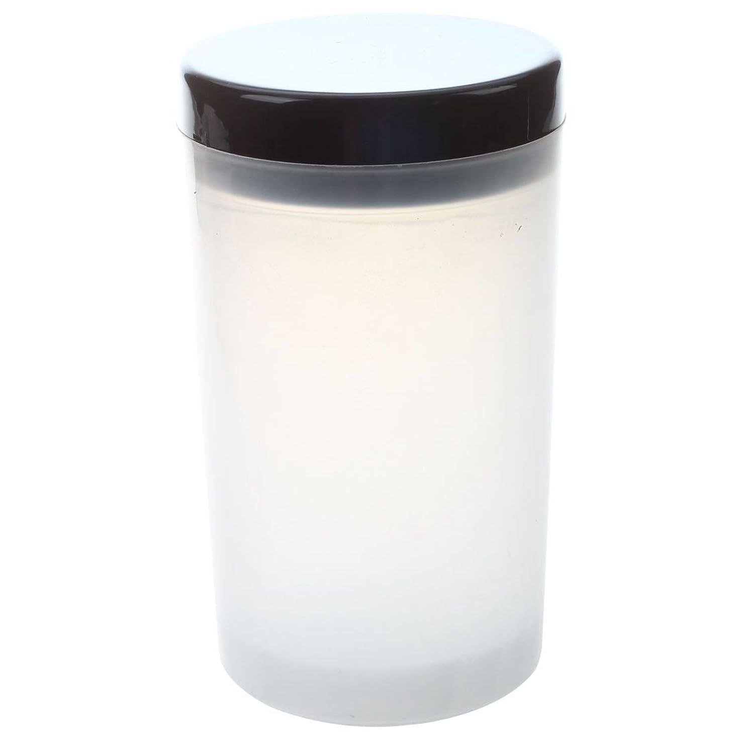 音声学勤勉履歴書SODIAL ネイルアートチップブラシホルダー リムーバーカップカップ浸漬ブラシ クリーナーボトル