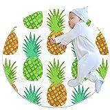 VFSS Leuchtend Juicy Ananas Kinderteppich Spielteppich Krabbeldecke Auto Spielzeug für Jungen...