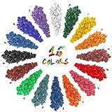 LA BELLEFÉE Candele coloranti, 16 colori, candele coloranti, per fai da te, produzione di candele, candele Dye per paraffina, cera di soia, set regalo di Natale per bambini e amanti del fai da te