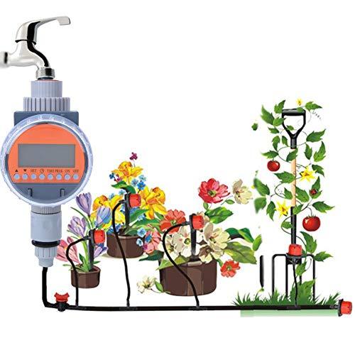 Nannday Minuterie d'eau, G1-1/4 DN32 Agriculture Solaire Agriculture Arrosage Automatique Arrosage Arroseurs Contrôleurs de système pour Le Jardinage Entretien des pelouses