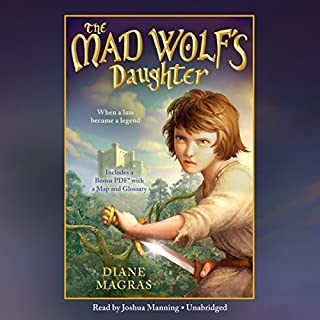 The Mad Wolf's Daughter audiobook cover art