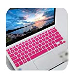 11.6 Inch Laptop Keyboard Cover Skin for Asus Vivobook E203M E203 E203Na Eeebook X200Ca X200Ma X200M E203Ma E200Ha S200E 11''-Rose-