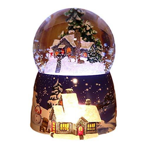 Bola De Nieve Cristal | Bola De Nieve Navidad Con Musica &...