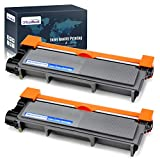OfficeWorld Compatible Toner Cartridge Replacement for Brother TN660 TN-660 TN630 for Brother HL-L2340DW HL-L2380DW HL-L2300D DCP-L2540DW MFC-L2700DW MFC-L2740DW DCP-L2520DW Printer (Black, 2-Pack)