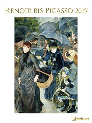 Renoir bis Picasso 2019: Posterkalender Kunst