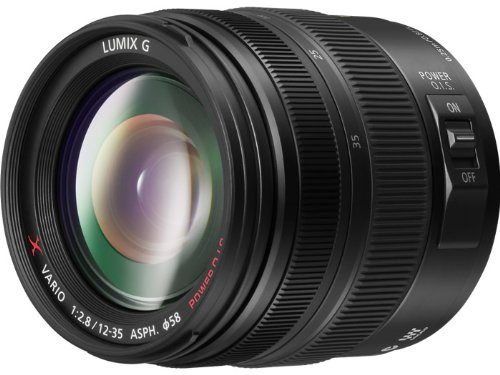 PANASONIC LUMIX G X VARIO LENS, 12-35MM, F2.8 ASPH., PROFESSIONAL MIRRORLESS MICRO FOUR THIRDS,...