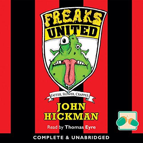 Freaks United audiobook cover art