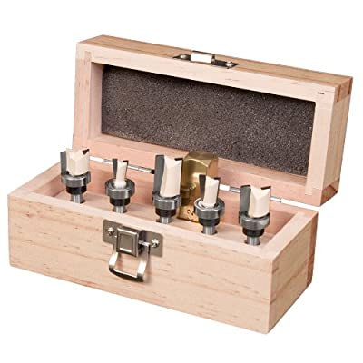 Dovetail Jig Router Bit Set By Peachtree Woodworking PW3437 by Peachtree Woodworking