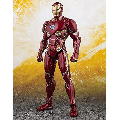Avengers 3 Iron Man Figuras de acción 6.3 Pulgadas Las articulaciones Pueden Estar activas Carácter de superhéroes