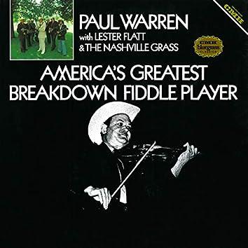 America's Greatest Breakdown Fiddle Player