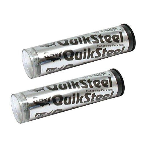 QuikSteel Cargo en métal renforcé en résine époxy Weld Kit de réparation – Lot de 2
