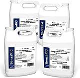 BenzaRid Professional Disinfectant (4) Gallon Set | Medical Grade Sanitizer & Virucide | Kills Black Mold, MRSA, Staph, Mites, H1N1, H5N1 Viruses, and Blood Born Pathogens | Antibacterial, Fungicide