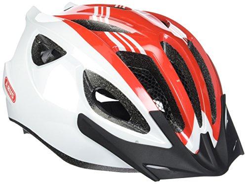 Abus Erwachsene Fahrradhelm S-Cension, race red, 54-58 cm, 12983-4