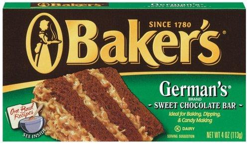 Baker's Baking Chocolate, 4 oz by Baker's