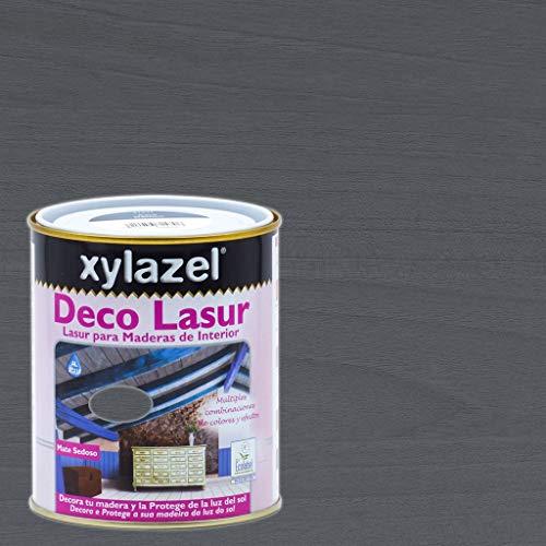 Xylazel - Protección madera deco lasur 750ml provenzal gris