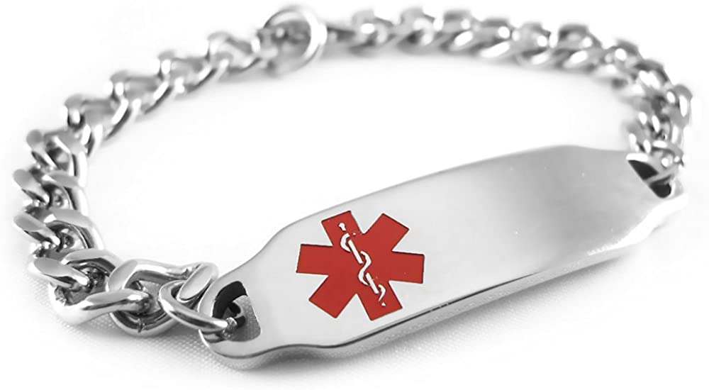My Identity Doctor - Medica Pre-Engraved Daily bargain sale outlet Diabetic Customizable