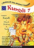 Kundli 7 English and Hindi Language Complete Kundli Software + Match Making & Tools By PremiumAV (CD)