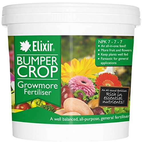 Elixir Gardens Bumper Crop Growmore Fertiliser   25kg, Supplied in...
