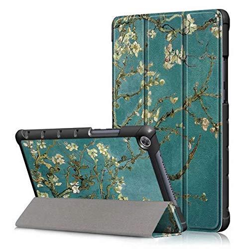 QiuKui Tab Funda para Huawei MediaPad M5 Lite 8.0 JDN2-AL00 / W09 8.0', Pantalla de la Tableta Cubierta + Funda de Cuero Libre de la película + Touch Pen Inteligente PU para Huawei MediaPad M5 Lite 8